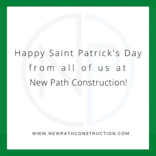 Happy Saint Patrick's day to everyone!  . . #stpatricksday #chicagoland #chicagoconstruction #designbuild #constructionlife #constructionfirm #commercialrealestate #developer #commercialconstruction