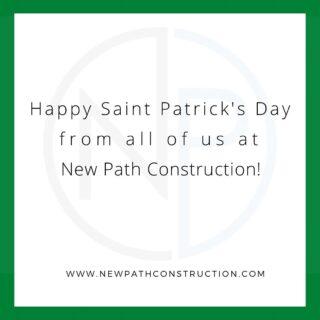 Happy Saint Patrick's day to everyone!  . . #stpatricksday #chicagoland #chicagoconstruction #designbuild #constructionlife #constructionfirm #commercialrealestate #developer #commercialconstruction