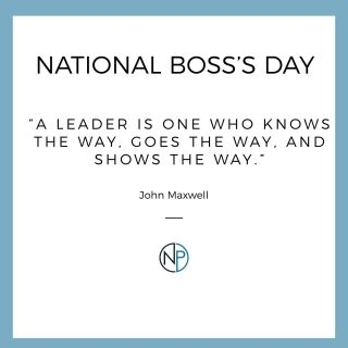 Every great team needs a great leader! Happy National Boss's Day to all of the great leaders out there, including our CEO! . . #nationalbossday #newpathconstruction #chicagoland #chicagolandconstruction #construction #developer #midwestconstruction #constructionfirm