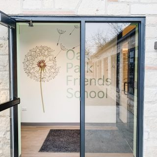 Happy Monday. We welcome a new week of the New Year, and our clients at Oak Park Friends are welcoming new students to their recently finished expansion project.  . . #school #commercialremodel #interiortenovation #renovation #renovationproject #expansion #constructionproject #oakparkillinois #chicagoland #newstorefront #benjaminmoore #exteriorstone